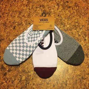 Vans 3 pack socks NWT